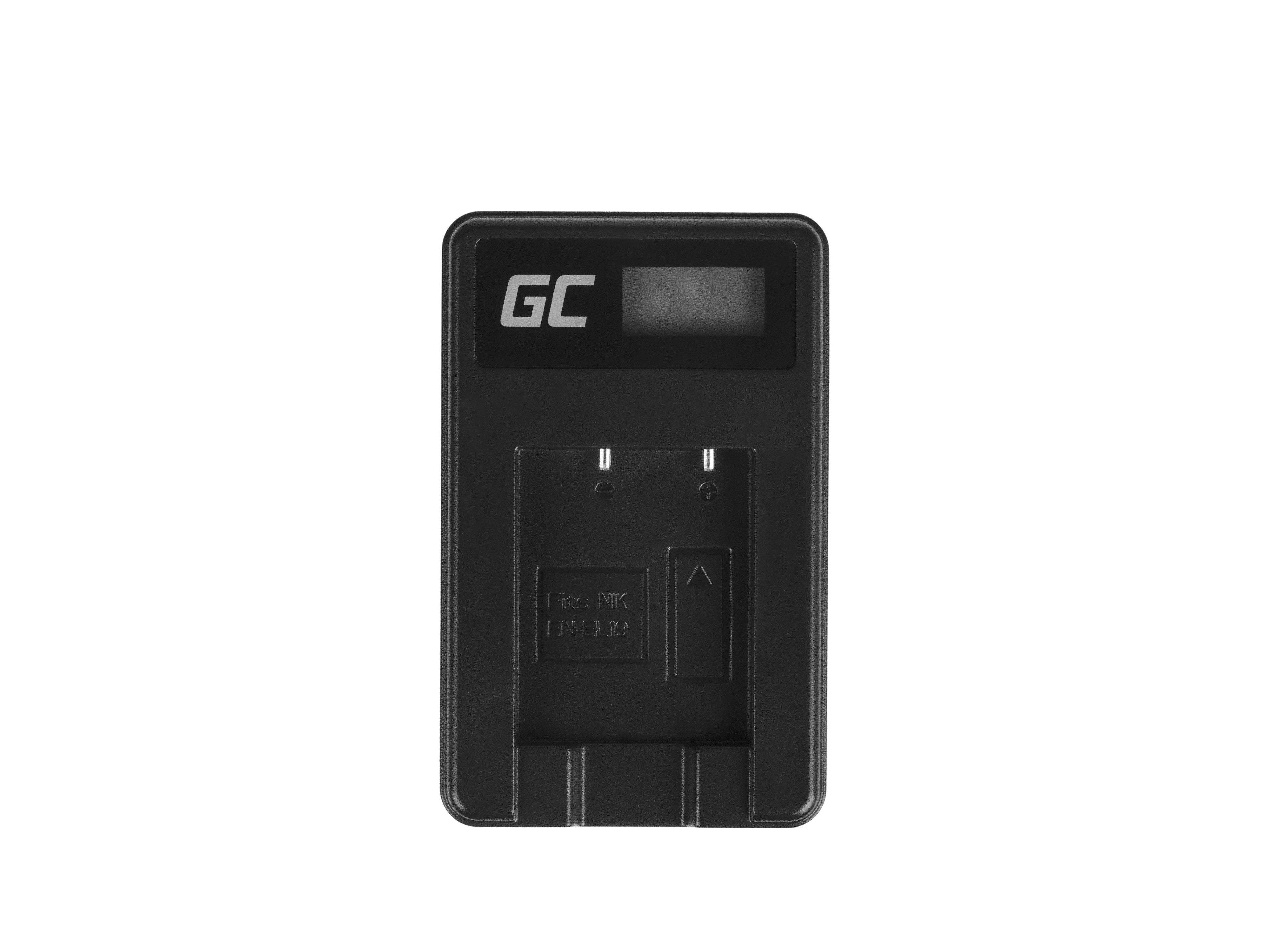 Green Cell Charger MH-66 for Nikon EN-EL19, Coolpix W100, A100, A300, S32, S33, S100, S2750, S3300, S5200, S6400, S7000