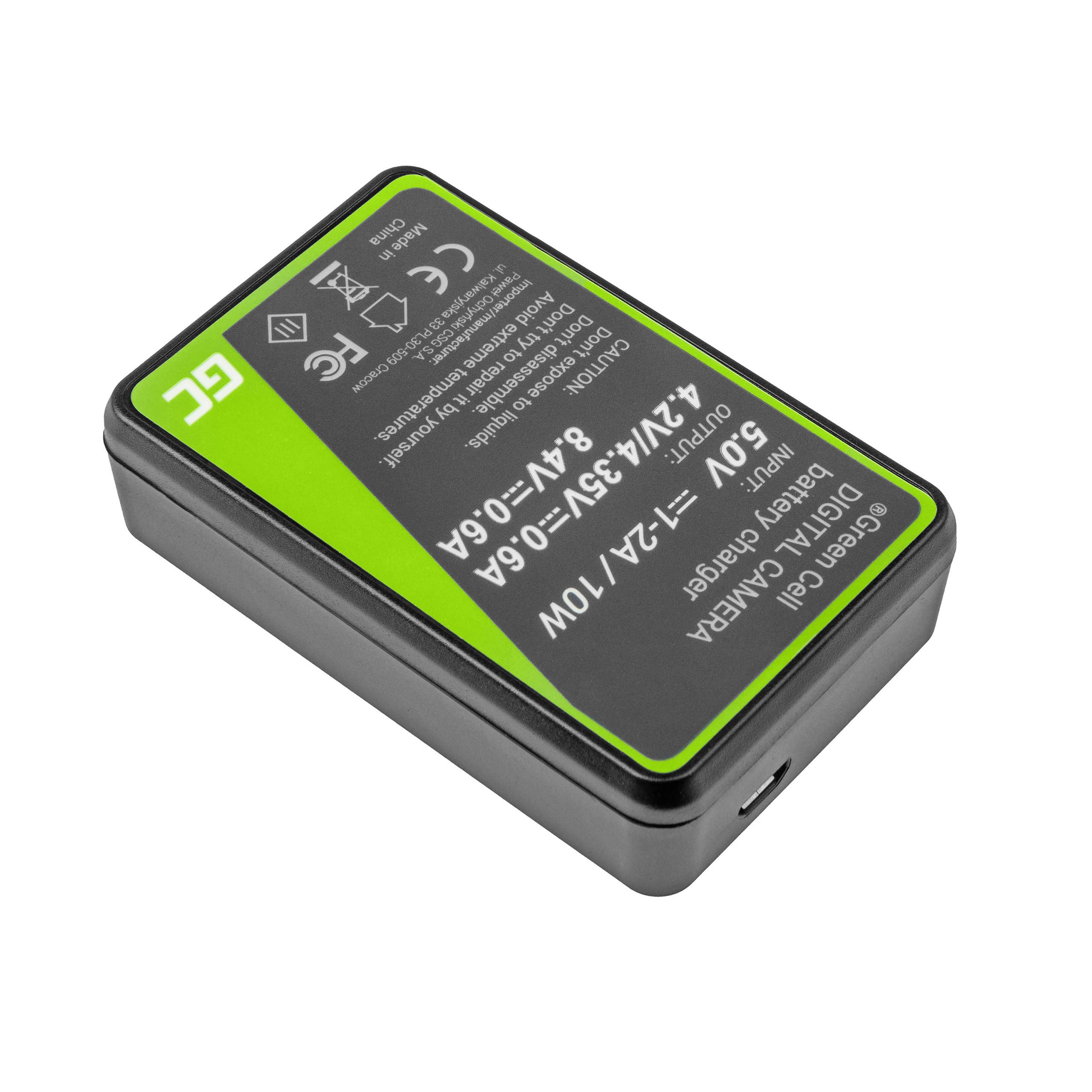 Green Cell Nabíječka LC-E17 pro Canon LP-E17, EOS 77D, 750D, 760D, 8000D, M3, M5, M6, Rebel T6i, Rebel T6s