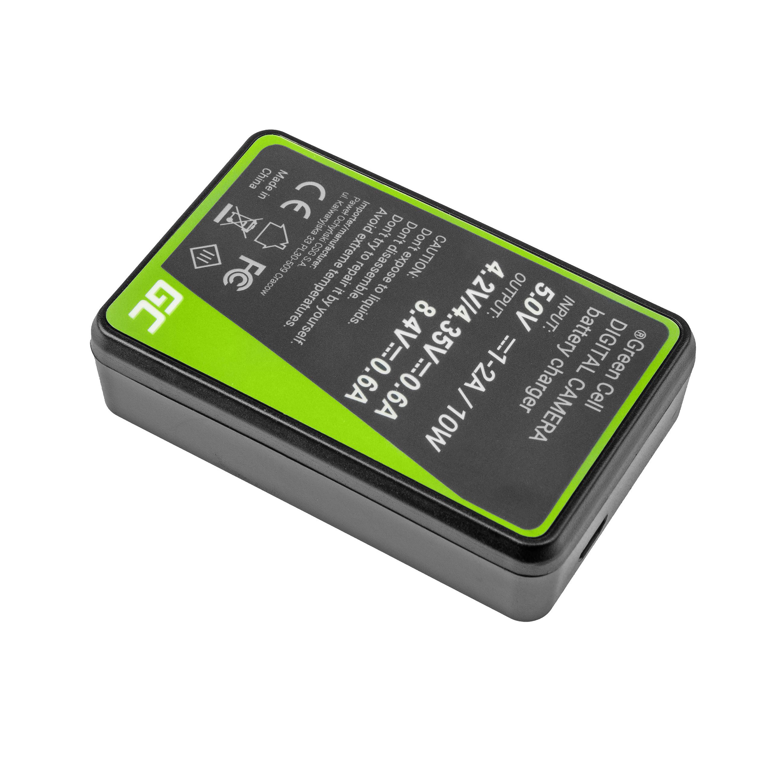 Green Cell Nabíječka LC-E8 pro Canon LP-E8 EOS Rebel T2i, T3i, T4i, T5i, EOS 600D, 550D, 650D, 700D, Kiss X5, X4, X6
