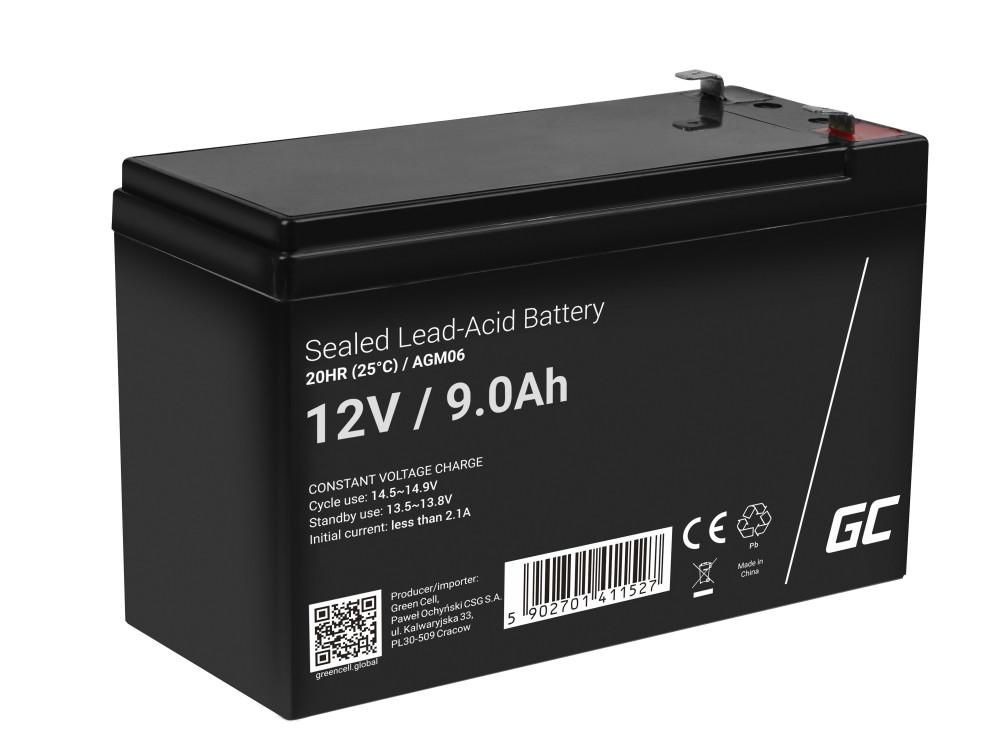 Green Cell AGM akkumulátor 12V 9Ah