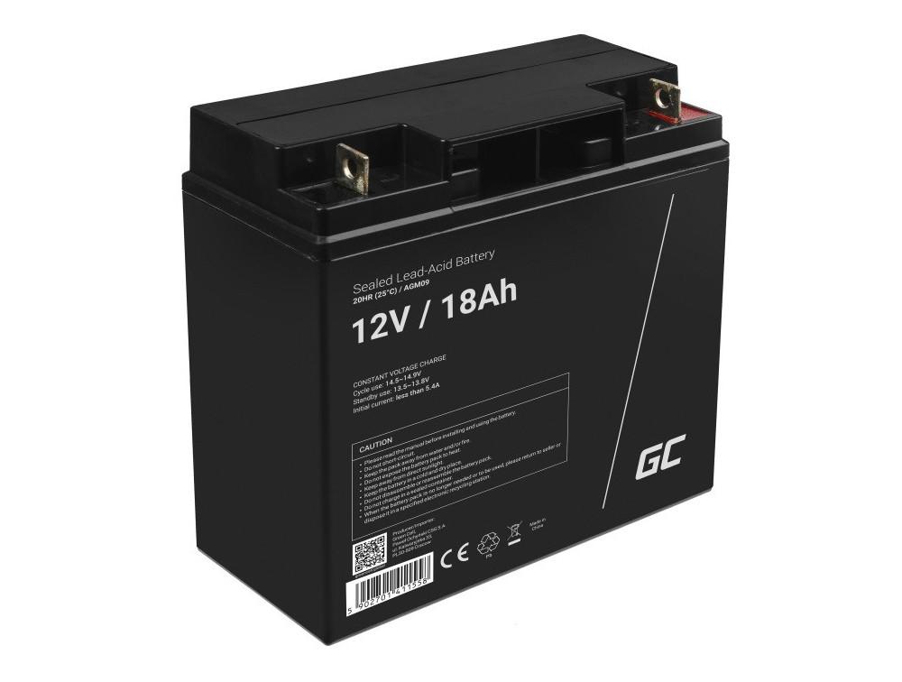 Green Cell AGM akkumulátor 12V 18Ah