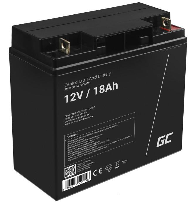 Green Cell AGM Baterie 12V 18Ah
