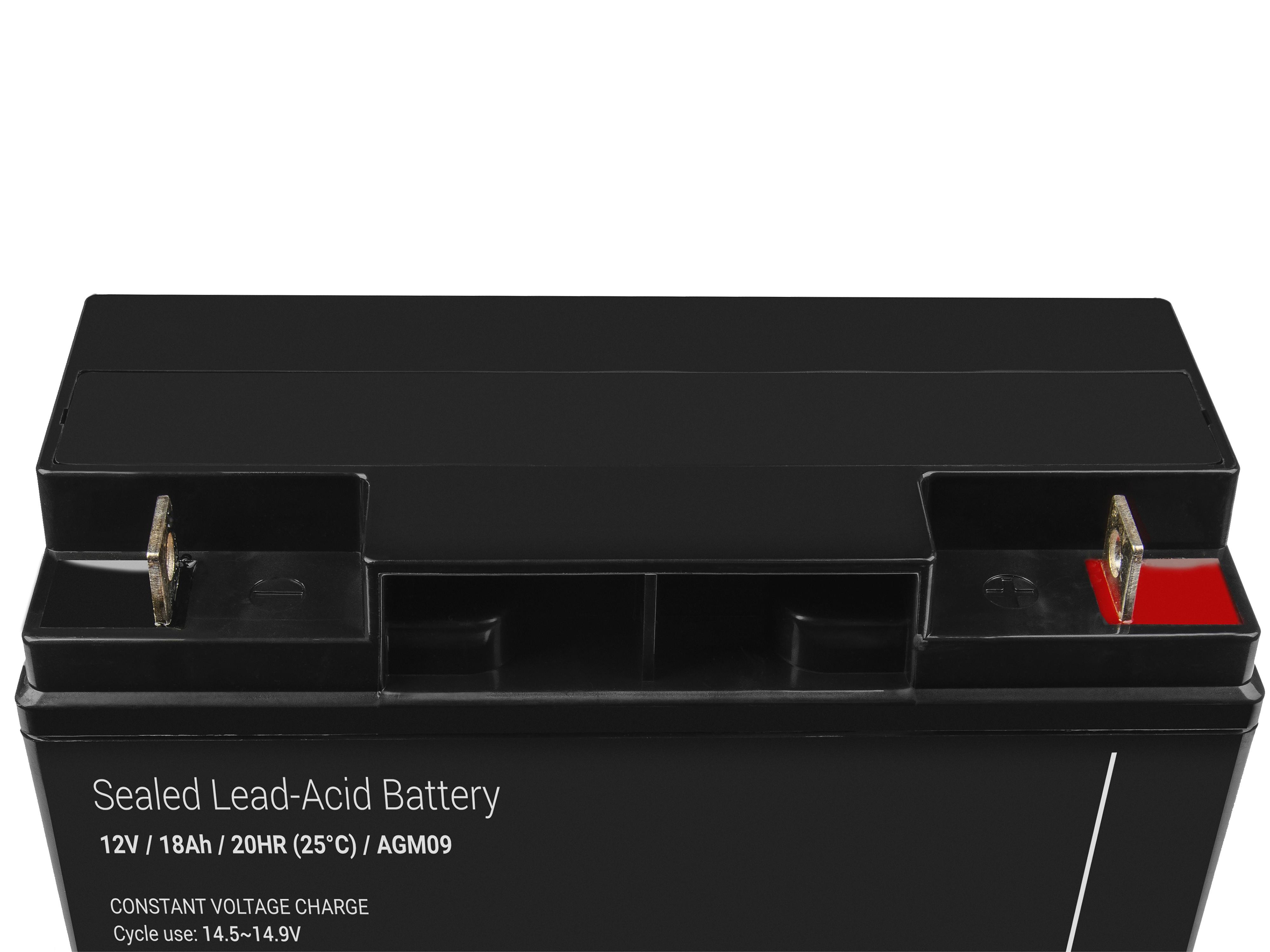 Green Cell AGM Battery 12V 18Ah