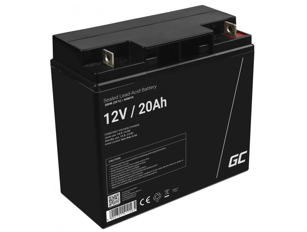 Green Cell AGM akkumulátor 12V 20Ah