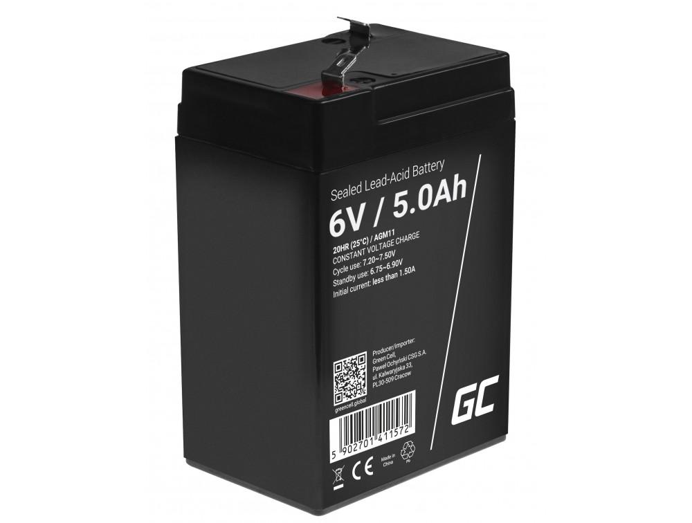Green Cell AGM akkumulátor 6V 5AH