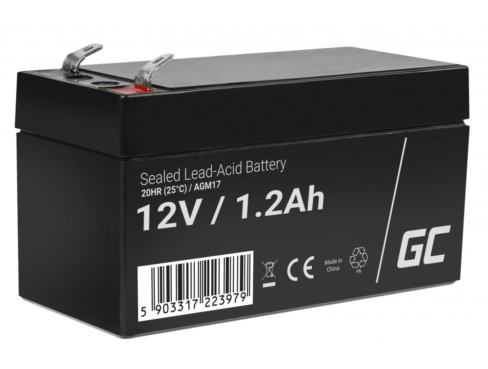 Green Cell AGM akkumulátor 12V 1.2Ah