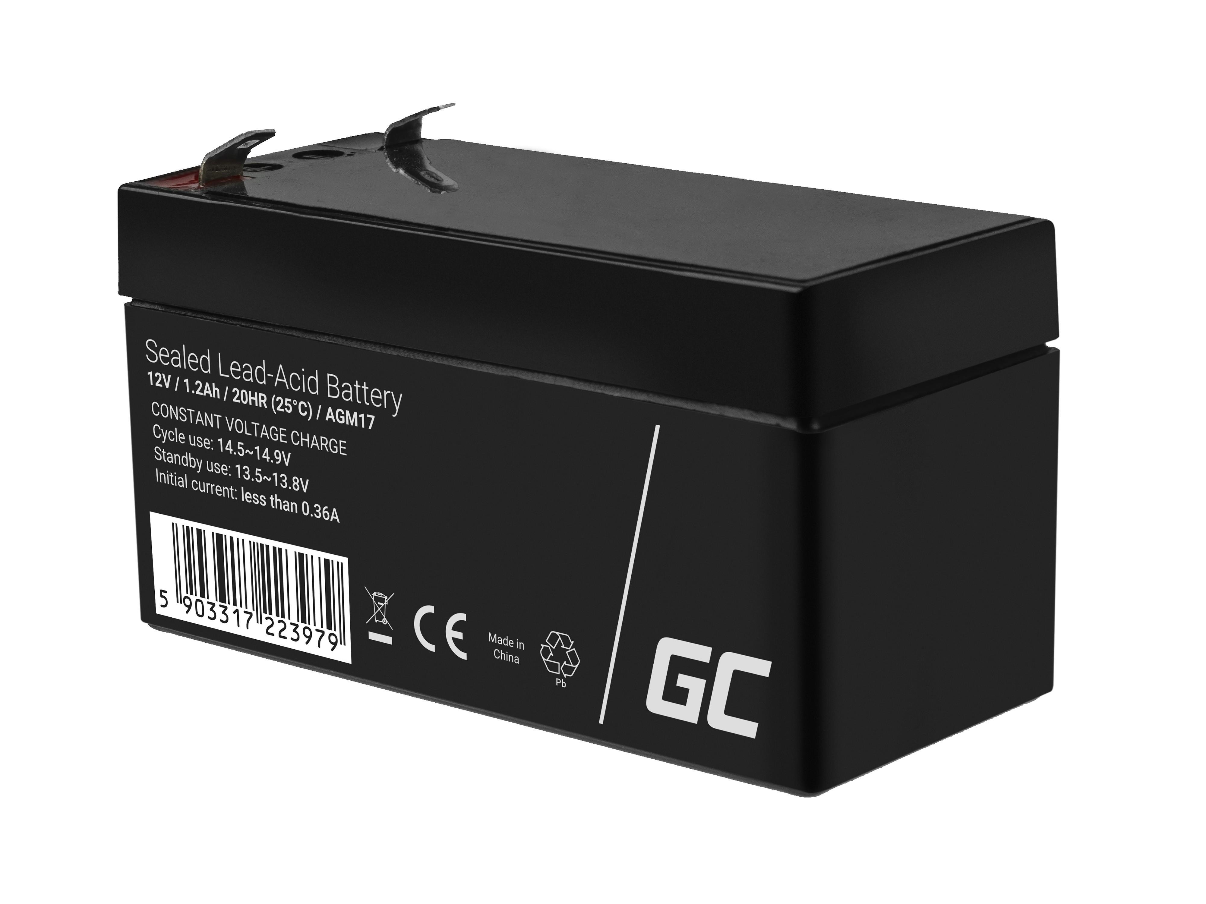 Green Cell Staniční (záložní) Baterie 12V 1.2Ah