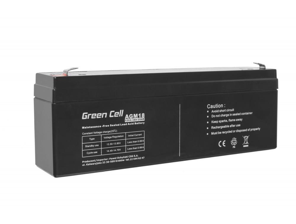 Green Cell AGM akkumulátor 12V 2.3Ah