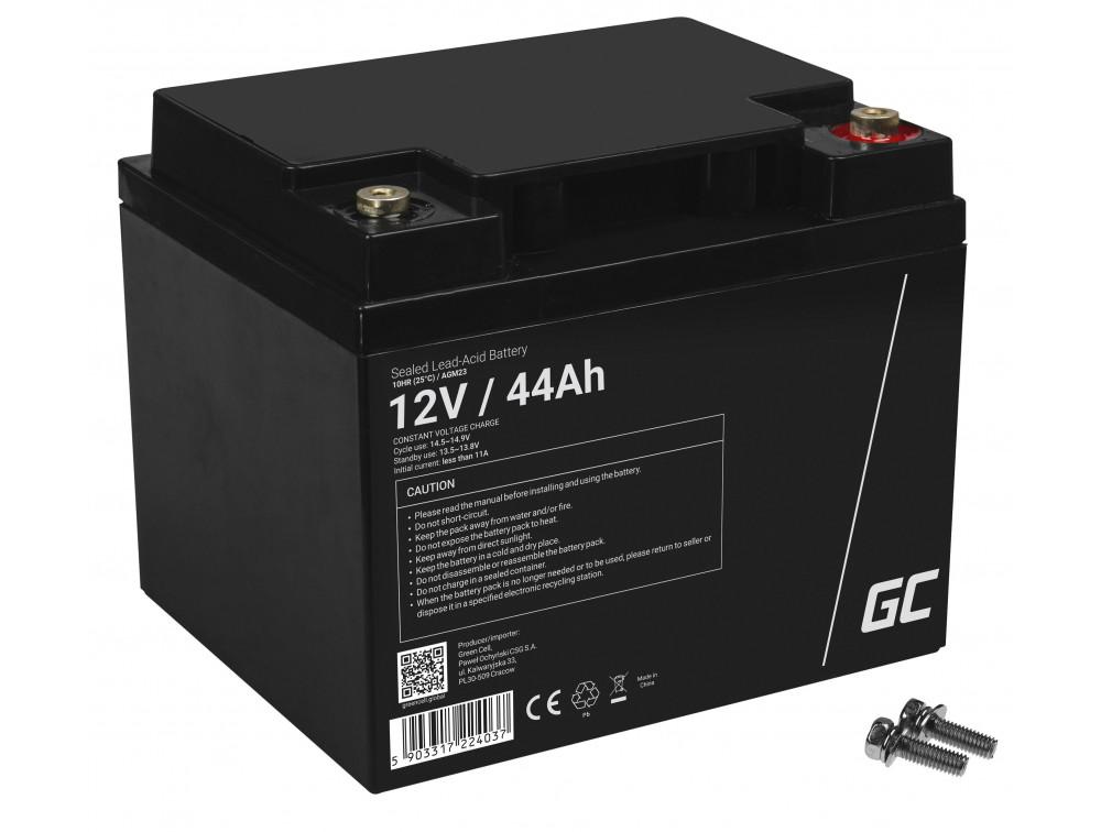 Green Cell AGM akkumulátor 12V 44Ah