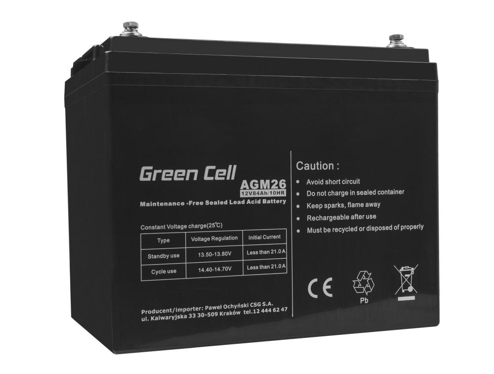 Green Cell AGM akkumulátor 12V 84Ah