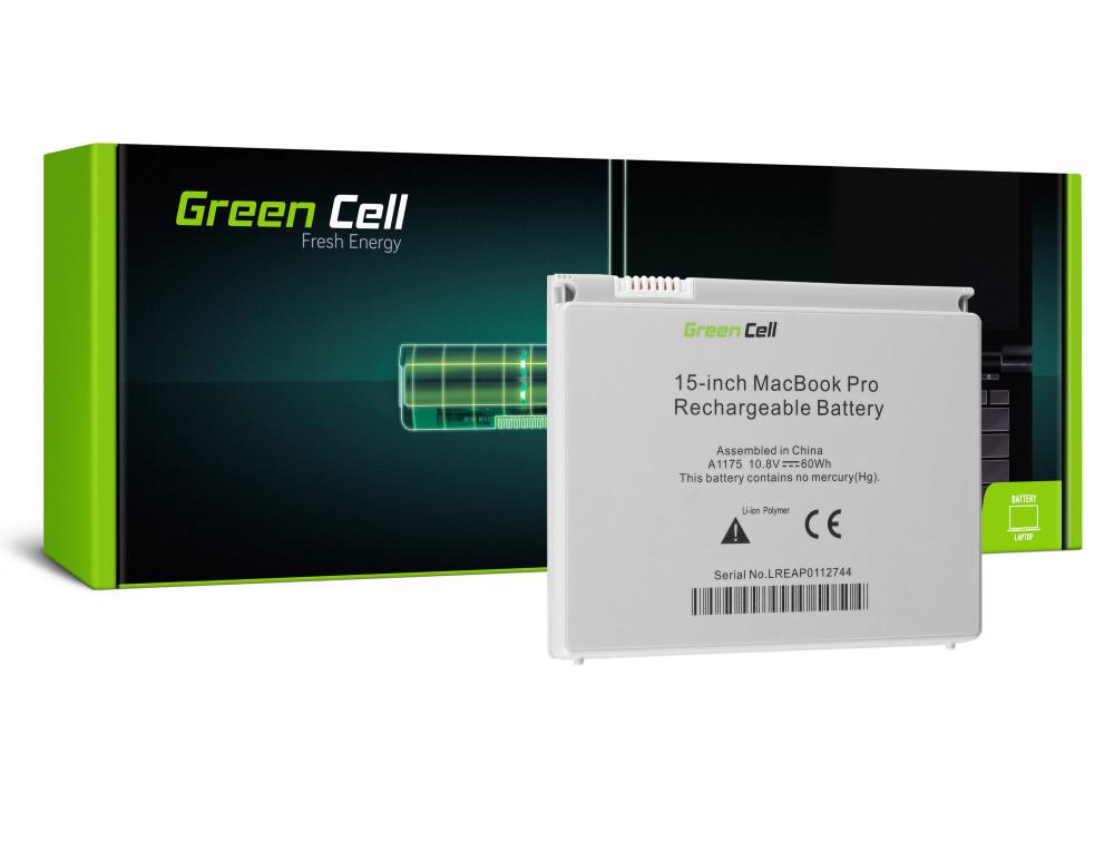 Green Cell akkumulátor Apple Macbook Pro 15 A1150 A1211 A1226 A1260 2006-2008 / 11,1V 5200mAh