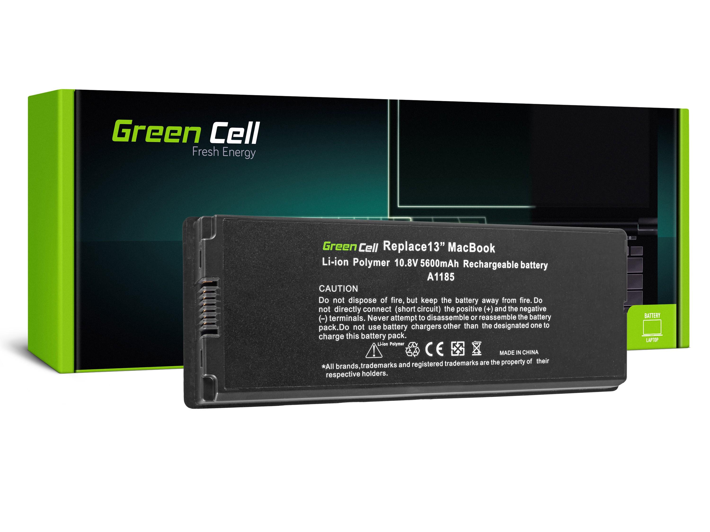 Green Cell Baterie pro Apple Macbook 13 A1181 2006-2009 (černá) / 11,1V 5200mAh