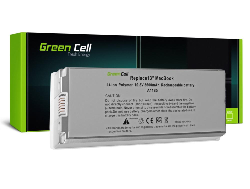 Green Cell akkumulátor Apple Macbook 13 A1181 2006-2009 (fehér) / 11,1V 5600mAh