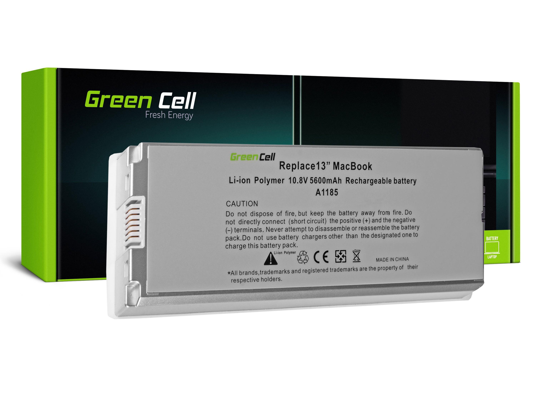 "Green Cell AP03 Baterie Apple A1181/A1185/Apple Macbook 13"" Bílá 56Wh Li-Pol – neoriginální"