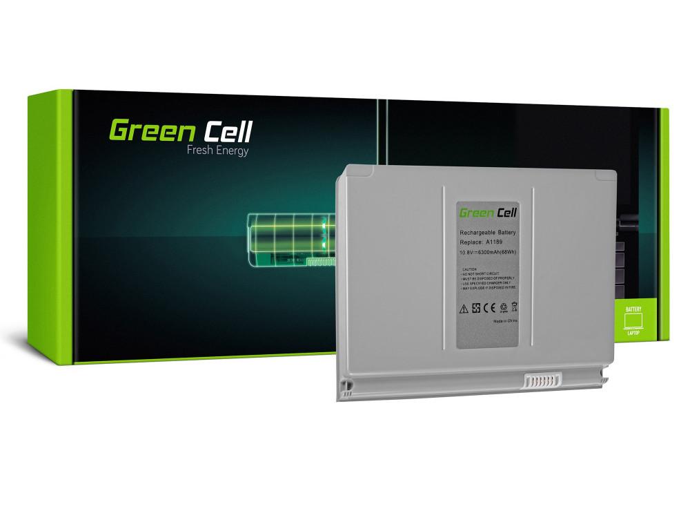 Green Cell akkumulátor Apple Macbook Pro 17 A1151 A1212 A1229 A1261 (2006, 2007, 2008) / 11,1V 6300mAh