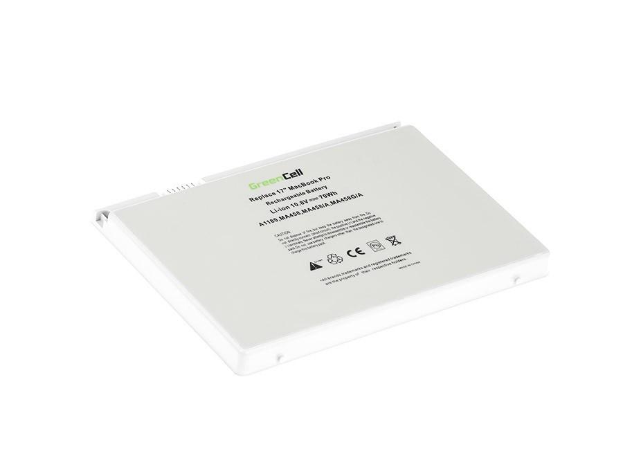 Green Cell Baterie pro Apple Macbook Pro 17 A1151 A1212 A1229 A1261 (2006, 2007, 2008) / 11,1V 6300mAh