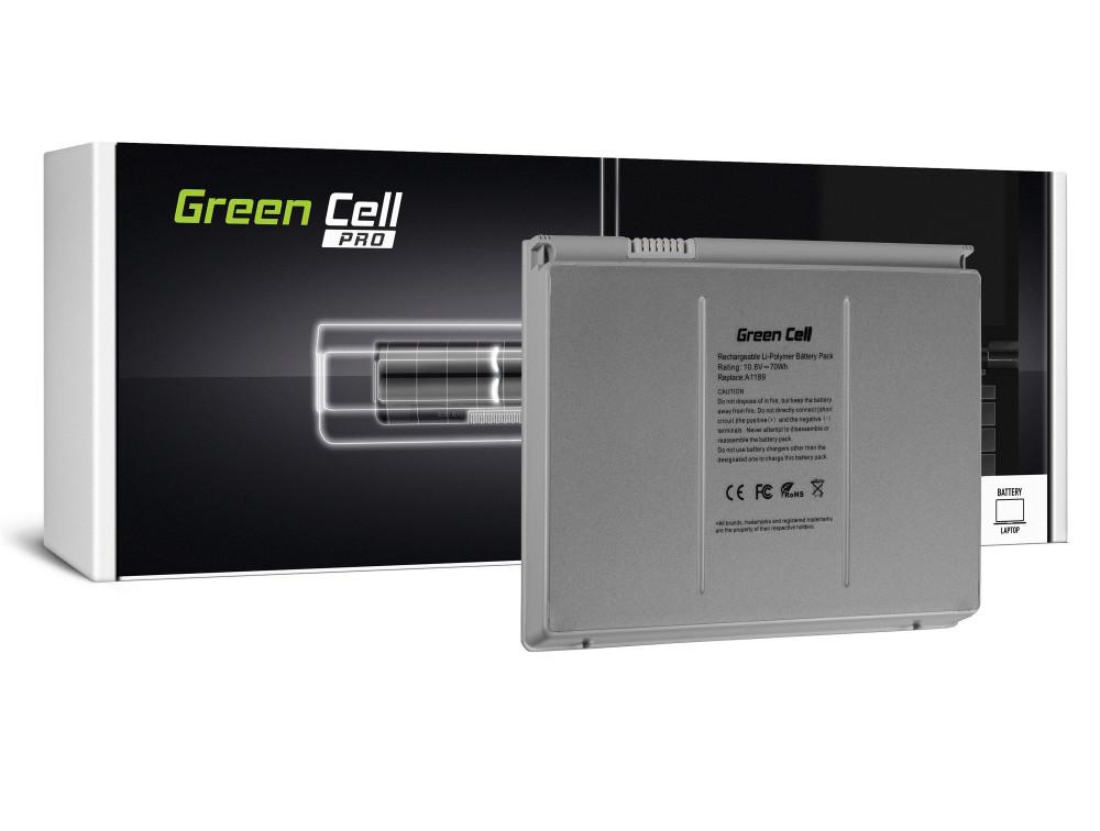 Green Cell Pro akkumulátor Apple Macbook Pro 17 A1151 A1212 A1229 A1261 (2006, 2007, 2008) / 11,1V 6500mAh