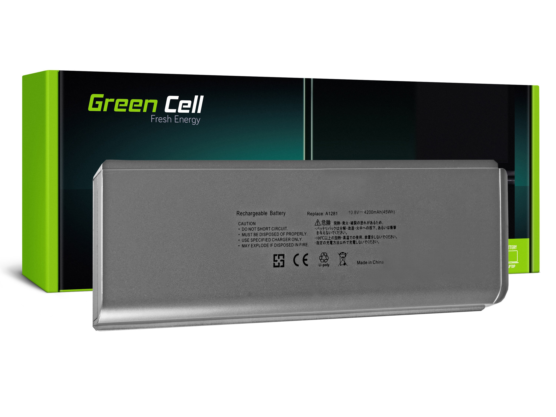 "Green Cell AP05 Baterie Apple A1281/A1286/Apple Macbook Pro 15"" (Late 2008, Early 2009) 45Wh Li-Pol – neoriginální"