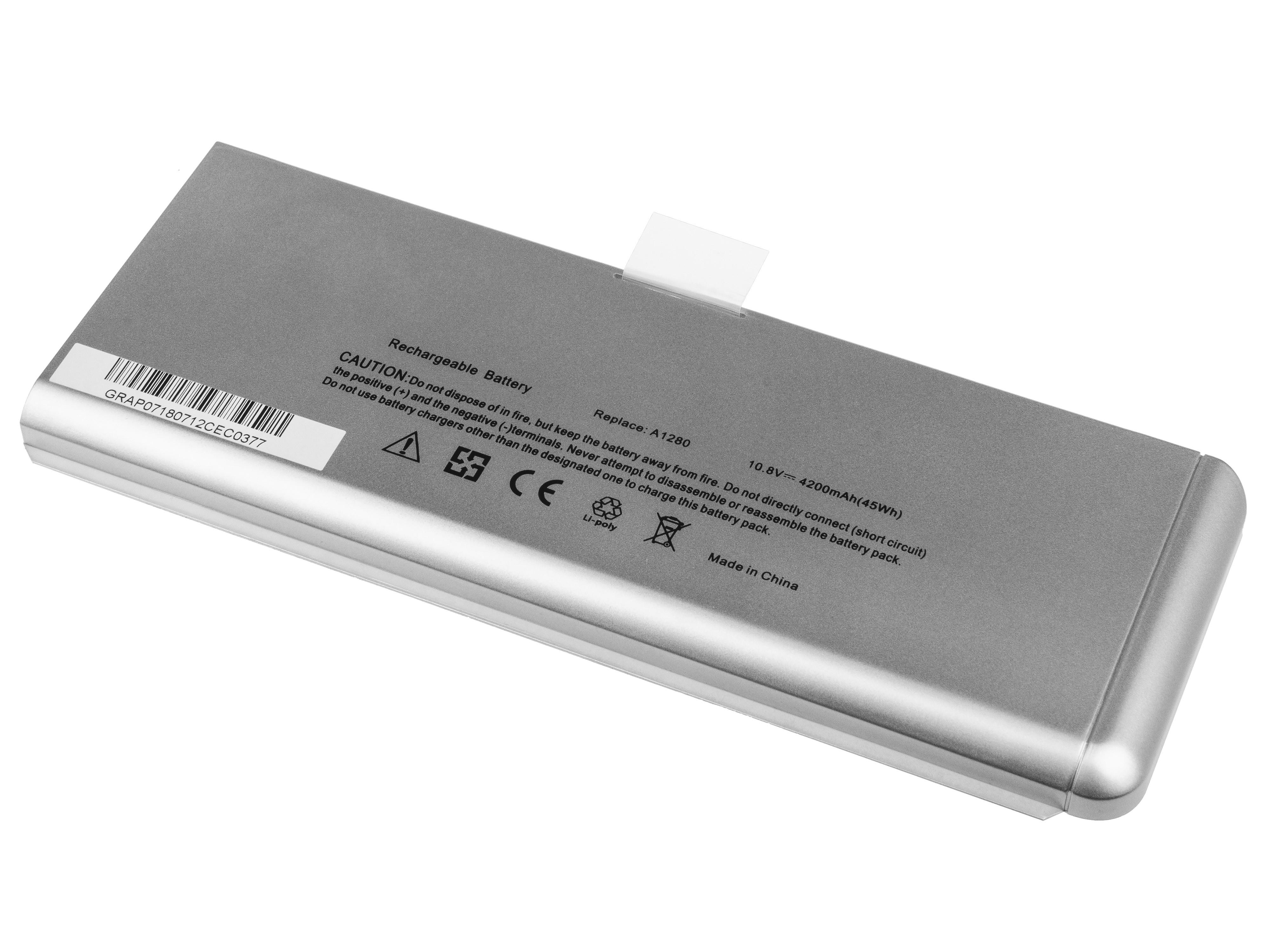 Green Cell AP07V2 Baterie Apple A1280/Apple Macbook 13' A1278 Aluminum (Late 2008) 45Wh Li-Pol – neoriginální