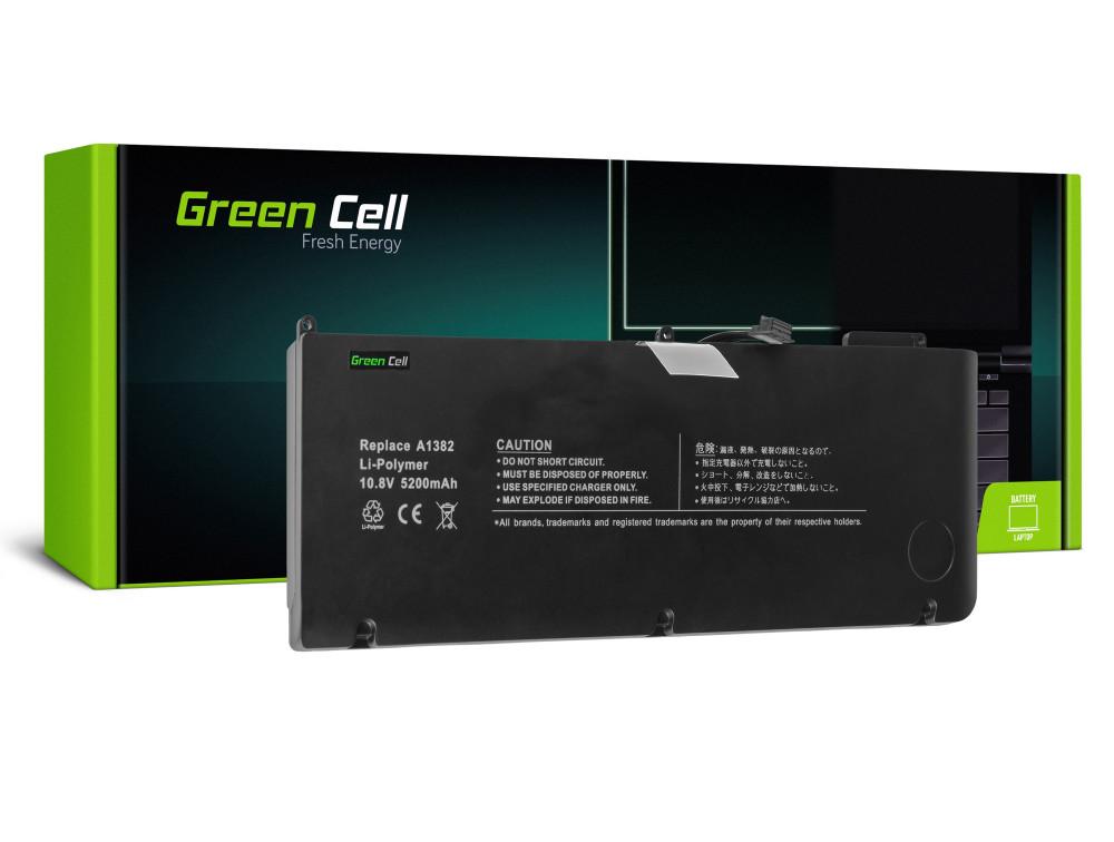 Green Cell akkumulátor Apple Macbook Pro 15 A1286 2011-2012 / 10,95V 5200