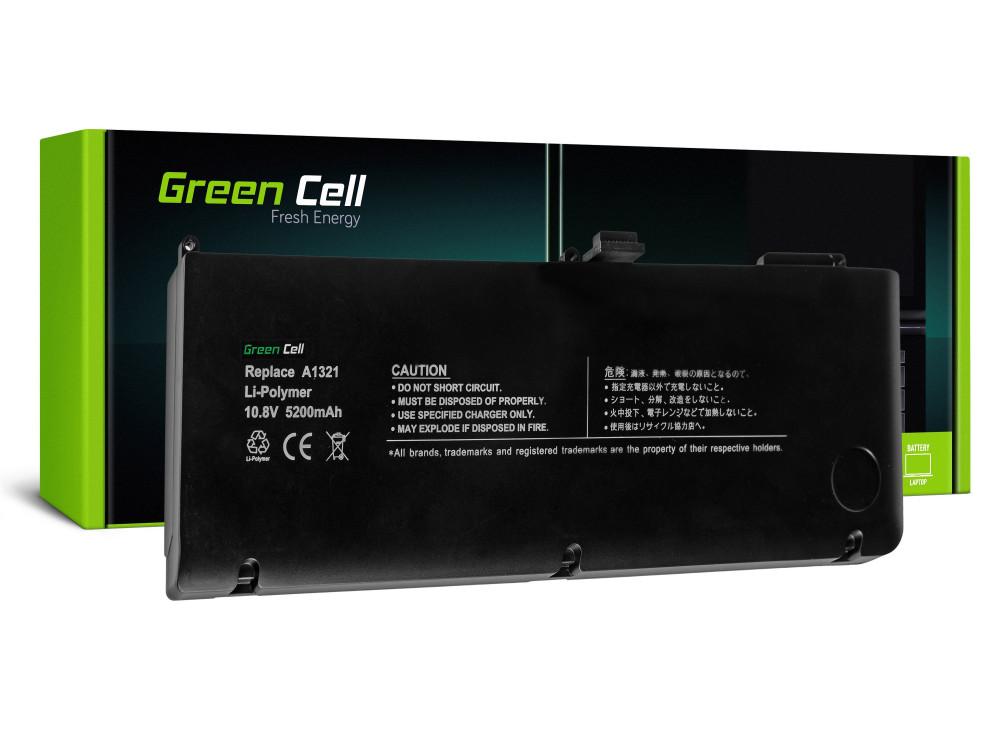 Green Cell akkumulátor Apple Macbook Pro 15 A1286 2009-2010 / 11,1V 5200mAh