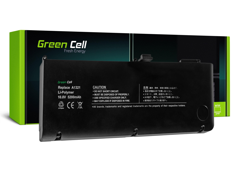 "Green Cell AP10 Baterie Apple A1321/MB985/Apple Macbook PRO 15"" 57Wh Li-Pol – neoriginální"