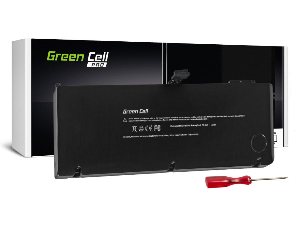 Green Cell Pro akkumulátor Apple Macbook Pro 15 A1286 2009-2010 / 10,95V 6700mAh
