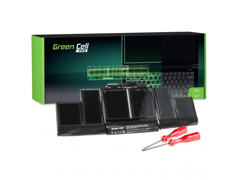 Green Cell Pro akkumulátor Apple Macbook Pro 15 A1398 (Mid 2012 Early 2013) / 10,95V 8700mAh