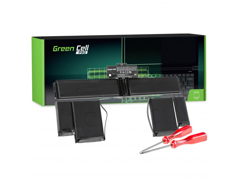 Green Cell PRO akkumulátor Apple Macbook Pro 13 A1425/ 11,21V 6600mAh