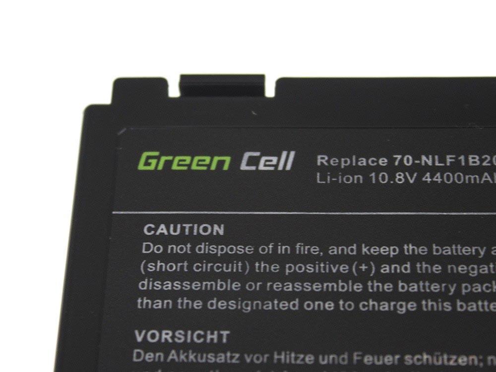 Green Cell AS01 Baterie Asus A32-F82/A32-F52/Asus K40/K50IN/K50IJ/K61IC/K70IJ 4400mAh Li-ion - neoriginální