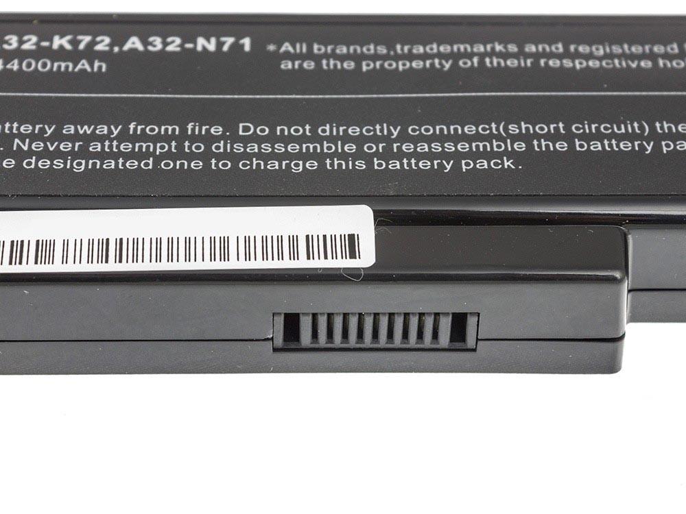 Green Cell Baterie pro Asus A32-K72 K72 K73 N71 N73 / 11,1V 4400mAh