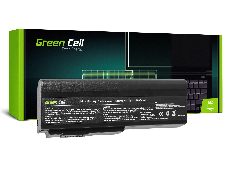 Green Cell Baterie pro Asus A32-M50 A32-N61 N43 N53 G50 L50 M50 M60 N61VN / 11,1V 6600mAh