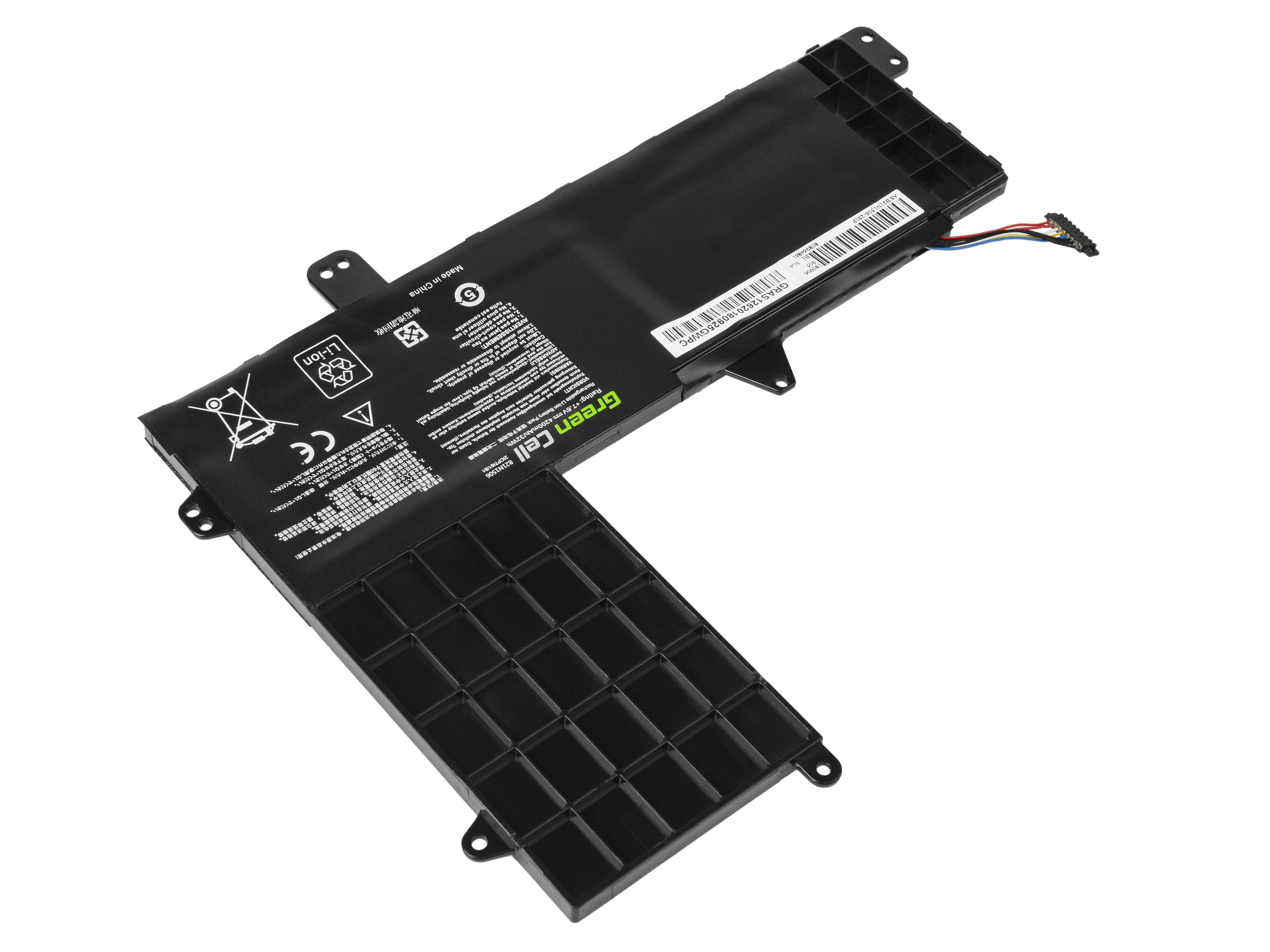 Green Cell AS126 Baterie Asus B21N1506/Asus EeeBook E502M/E502MA 4200mAh Li-Pol – neoriginální