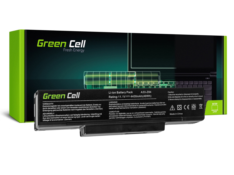 Green Cell AS13 Baterie Asus BTY-M66/M660NBAT/Asus A9/S9/S96/Z62/Z9/Z94/Z96/FL92 4400mAh Li-ion - neoriginální