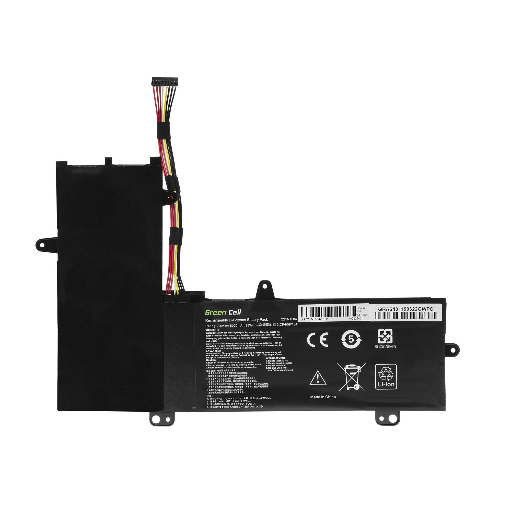 Green Cell AS131 Baterie Asus C21N1504 Asus Transformer Book Flip TP200S TP200SA 5000mAh Li-Pol – neoriginální