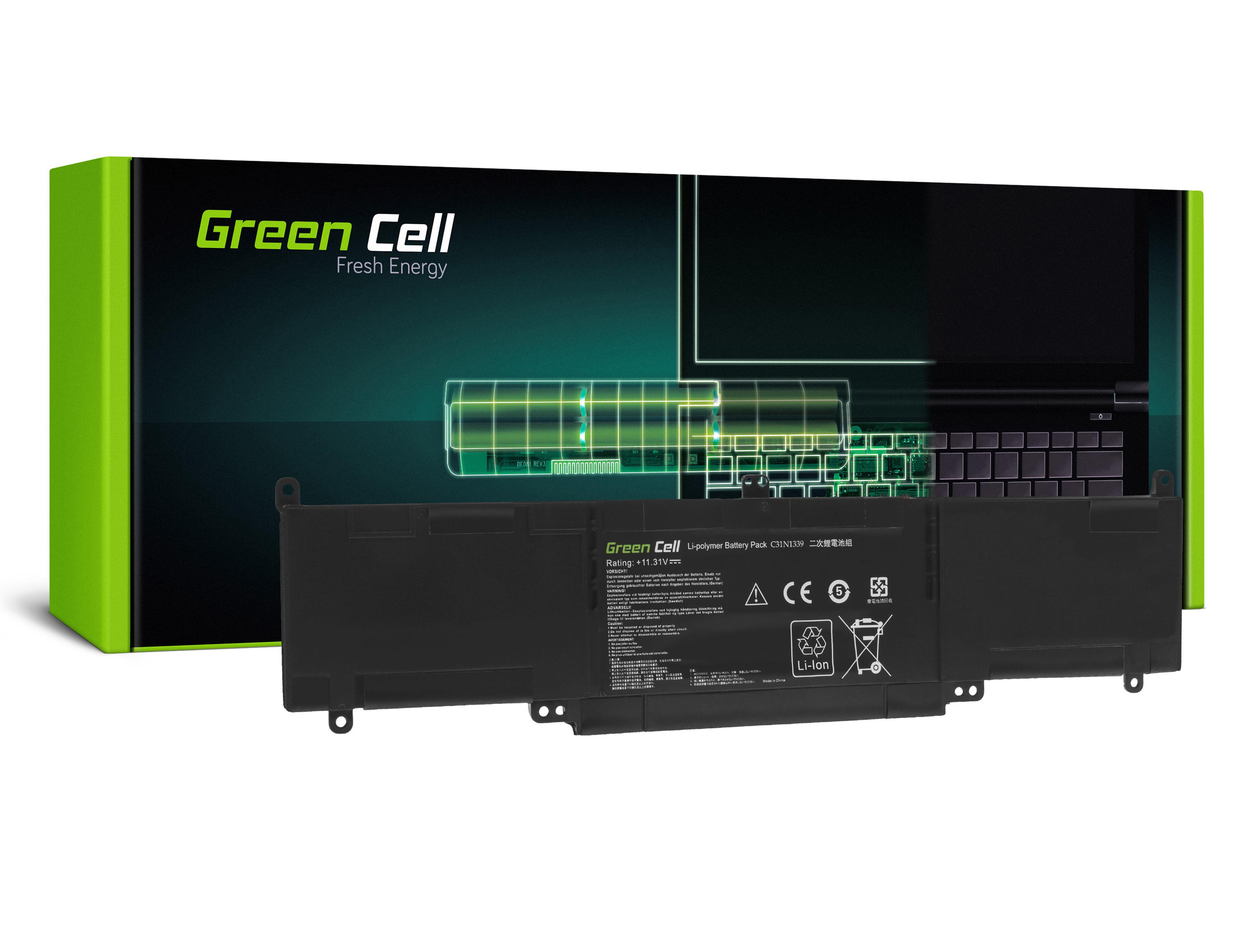 Green Cell C31N1339 Baterie pro Asus ZenBook UX303 UX303U UX303UA UX303UB UX303L Transformer Book TP300L TP300LA TP300LD TP300LJ
