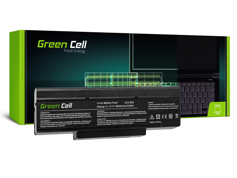 Green Cell AS14 Baterie Asus BTY-M66/M660NBAT/Asus A9/S9/S96/Z62/Z9/Z94/Z96/FL92 6600mAh Li-ion - neoriginální