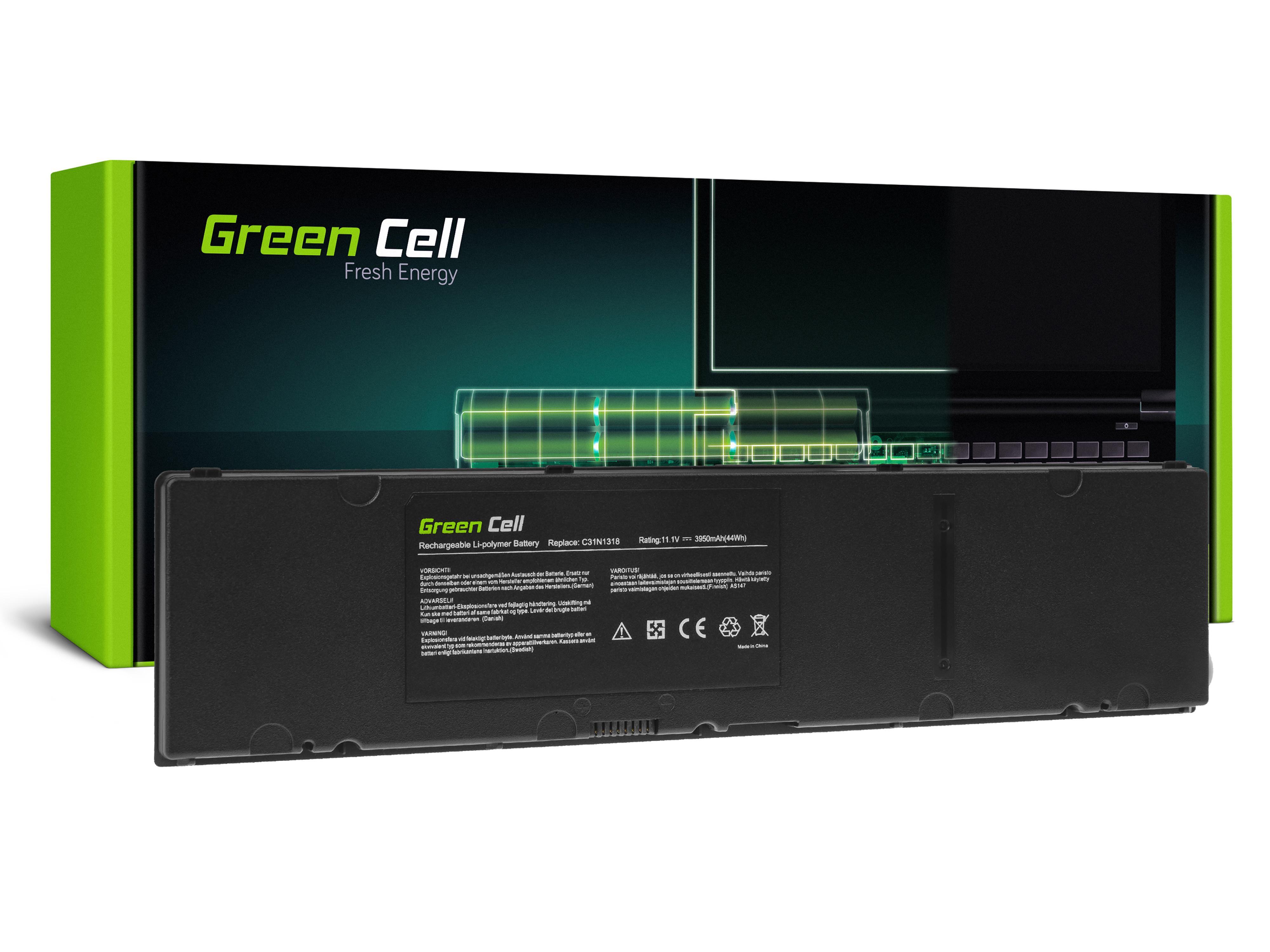 Green Cell Baterie C31N1318 pro AsusPRO PU301 PU301L PU301LA