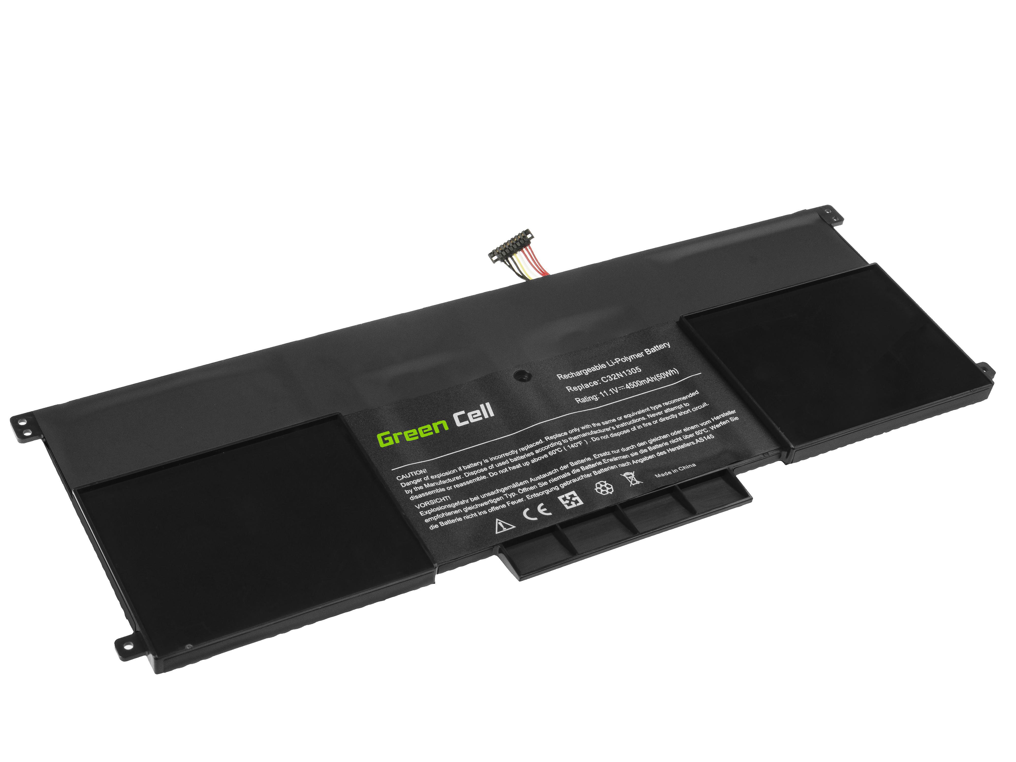 Green Cell AS145 Baterie Asus C32N1305,Asus ZenBook UX301 UX301L UX301LA 4500mAh Li-Pol – neoriginální