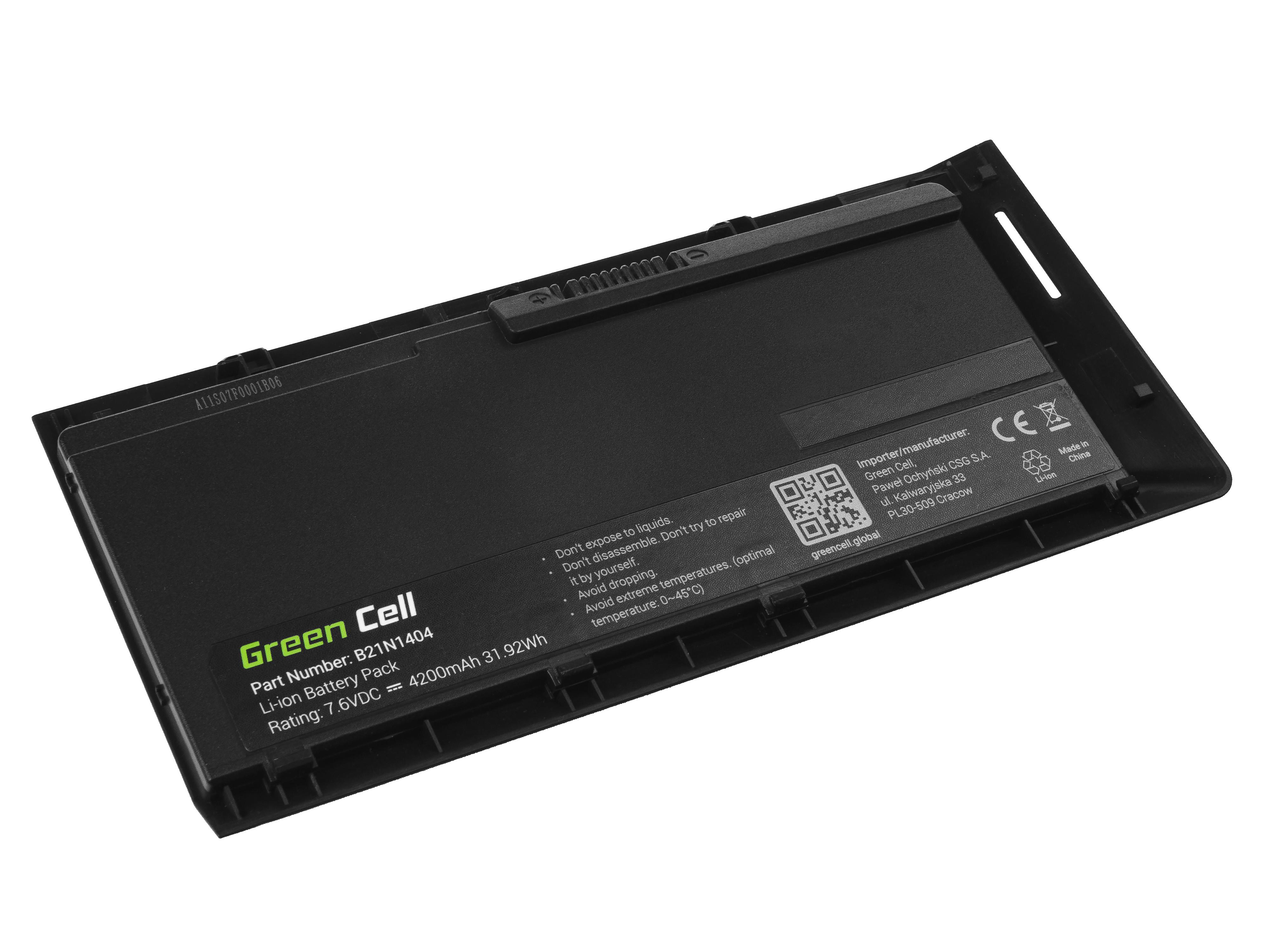 Green Cell Baterie B21N1404 do Asus AsusPRO BU201 BU201L BU201LA