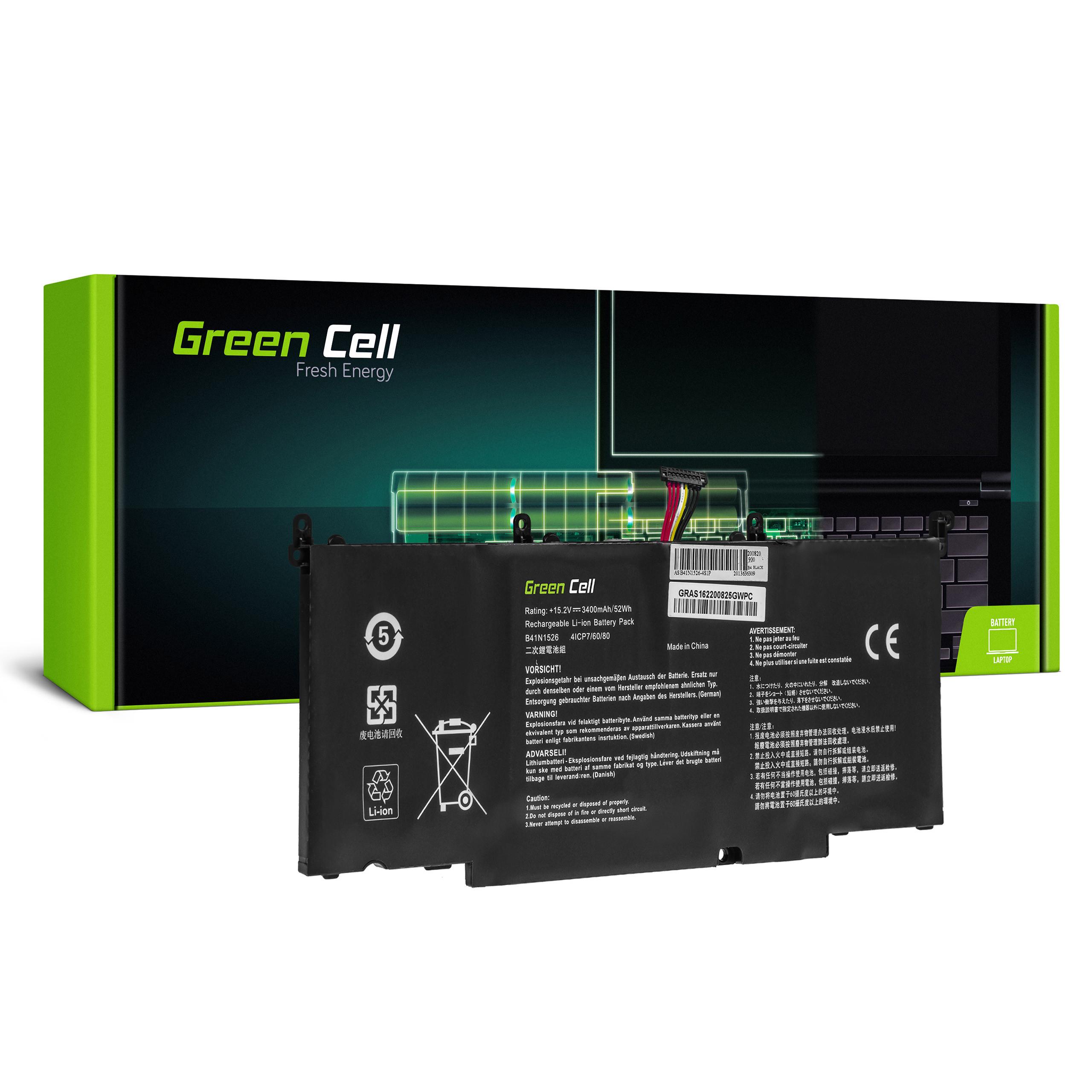 Green Cell Baterie B41N1526 pro Asus FX502 FX502V FX502VD FX502VM ROG Strix GL502VM GL502VT GL502VY