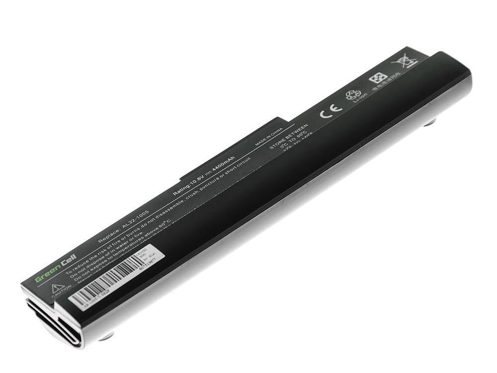 Green Cell Baterie pro Asus Eee-PC 1001 1001P 1005 1005P 1005H (černá) / 11,1V 4400mAh