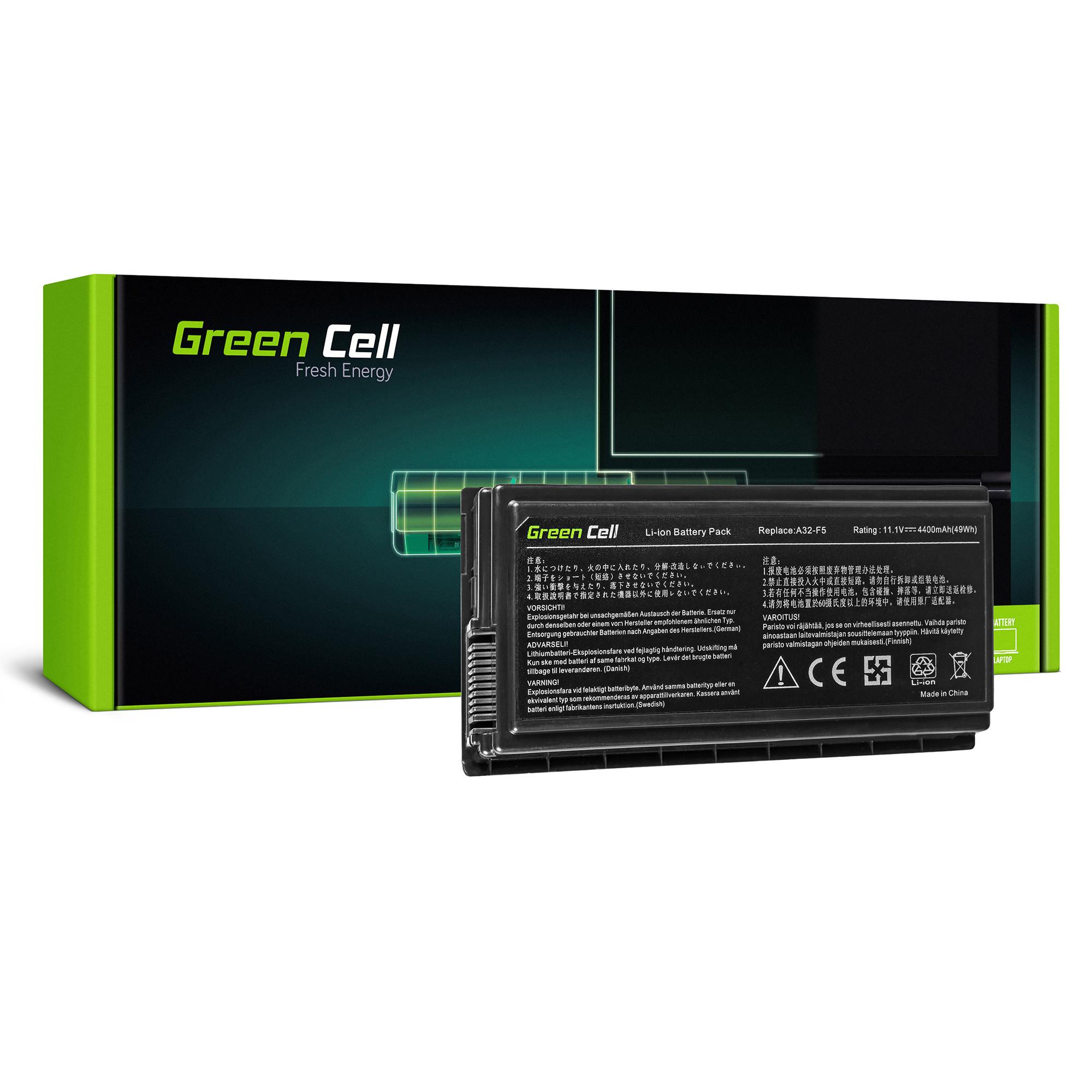 Green Cell Baterie pro Asus F5N F5R F5V F5M F5RL X50 X50N X50RL / 11,1V 4400mAh