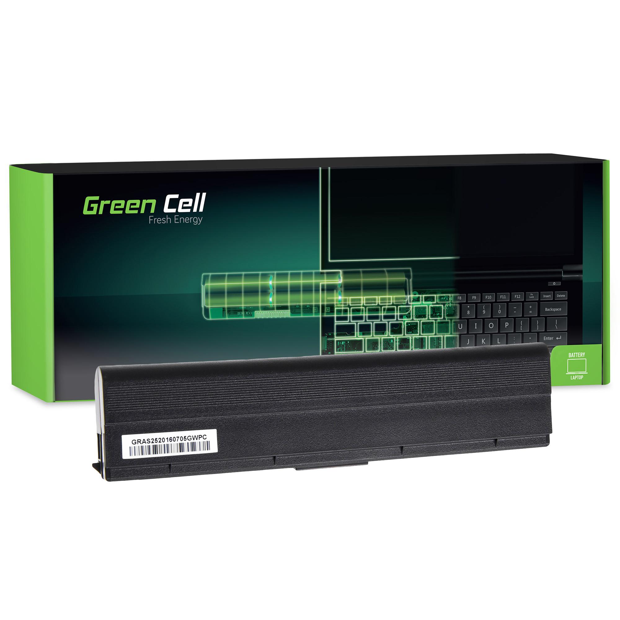 Green Cell AS25 Baterie Asus F6/F6A/F6E/F6K/F9/F9F/F9J/F9E 4400mAh Li-ion - neoriginální