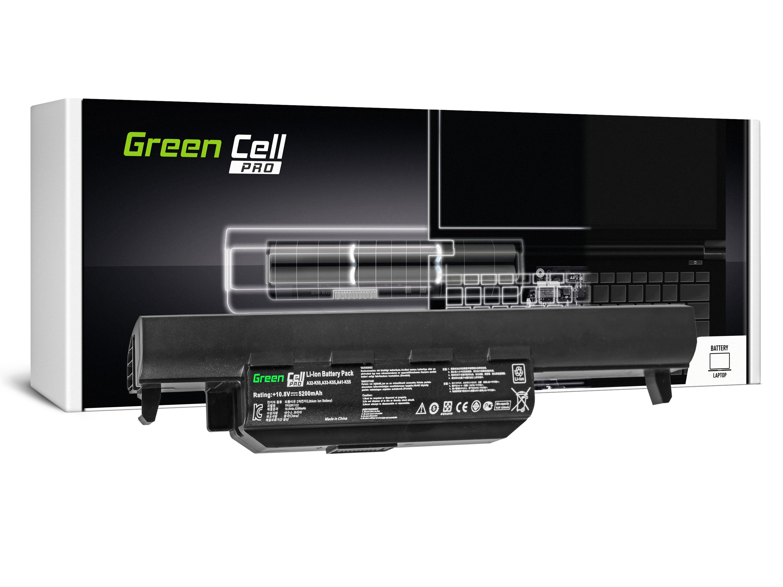 Green Cell AS37PRO Baterie Asus K55/K55V/R400/R500/R700/F55/F75/X55 5200mAh Li-ion - neoriginální
