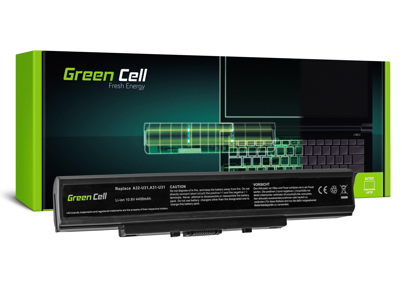 Green Cell AS38 Baterie Asus U31U31E/U31F/U31J/U31JG/U41JF/U31SD/U41/U41J/U41JF 4400mAh Li-ion - neoriginální