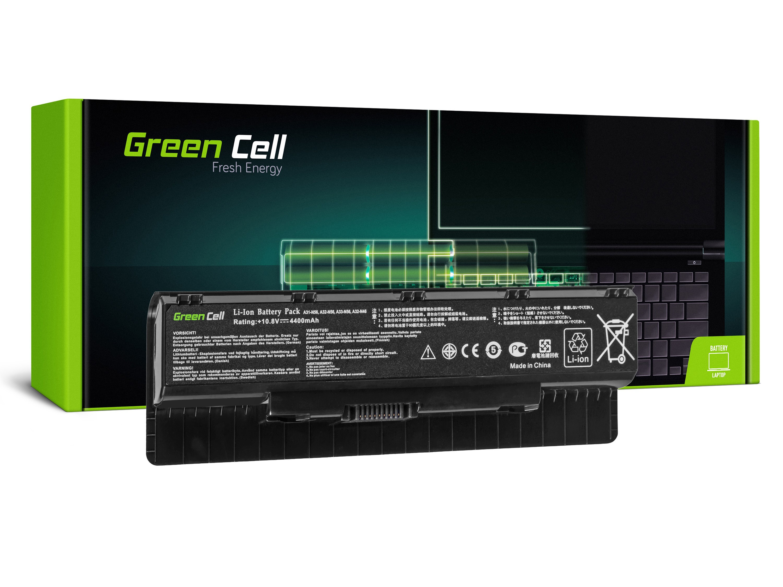 Green Cell AS41 Baterie Asus G56/N46/N56/N56DP/N56V/N56VM/N56VZ/N76 4400mAh Li-ion - neoriginální