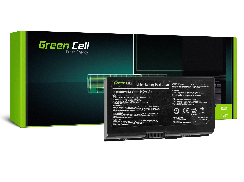 Green Cell AS44 Baterie Asus G71/G72/F70/M70/M70V/X71/X71A/X71SL 4400mAh Li-ion - neoriginální