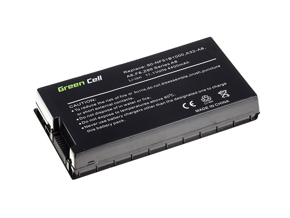 Green Cell Baterie pro Asus A8 A8E A8H A8J F8 N81 X80 Z99 / 11,1V 4400mAh