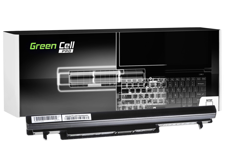 Green Cell AS47PRO Baterie Asus K56/K56C/K56CA/K56CB/K56CM/S56/S56C 2600mAh Li-ion - neoriginální